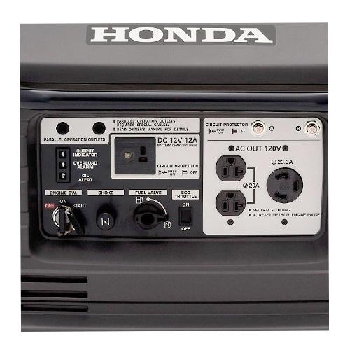 Honda EU3000is Front