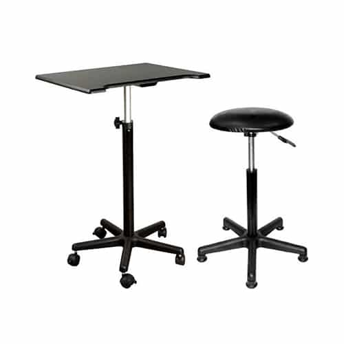 Posing Stool and Table