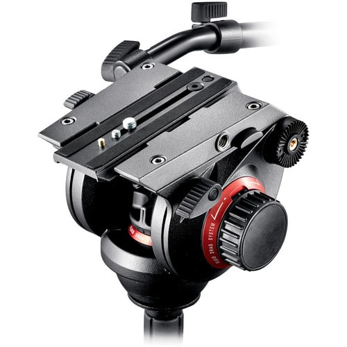 Manfrotto 504 head close up