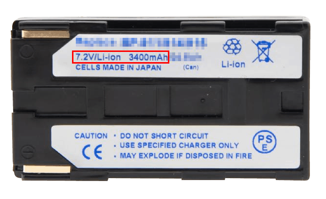 Traveling with Li-Ion batteries