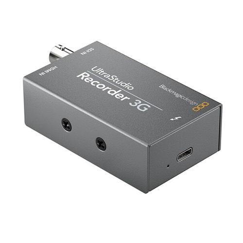 Blackmagic 3G Recorder Rear