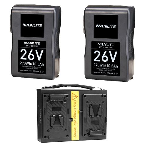 Nanlite 26v Battery Kit